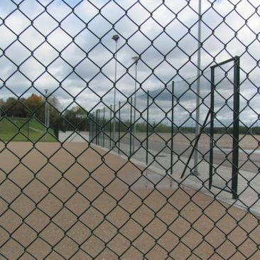 Sports facilities fencing systems