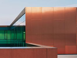 Copper for roofs and facades